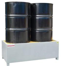 Heavy duty steel bunding