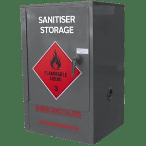 Sanitiser Storage Cabinet