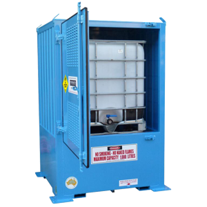 hydrogen peroxide outdoor storage unit