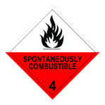 Compliant DG Signs_4 Spontaneously Combustible (1)