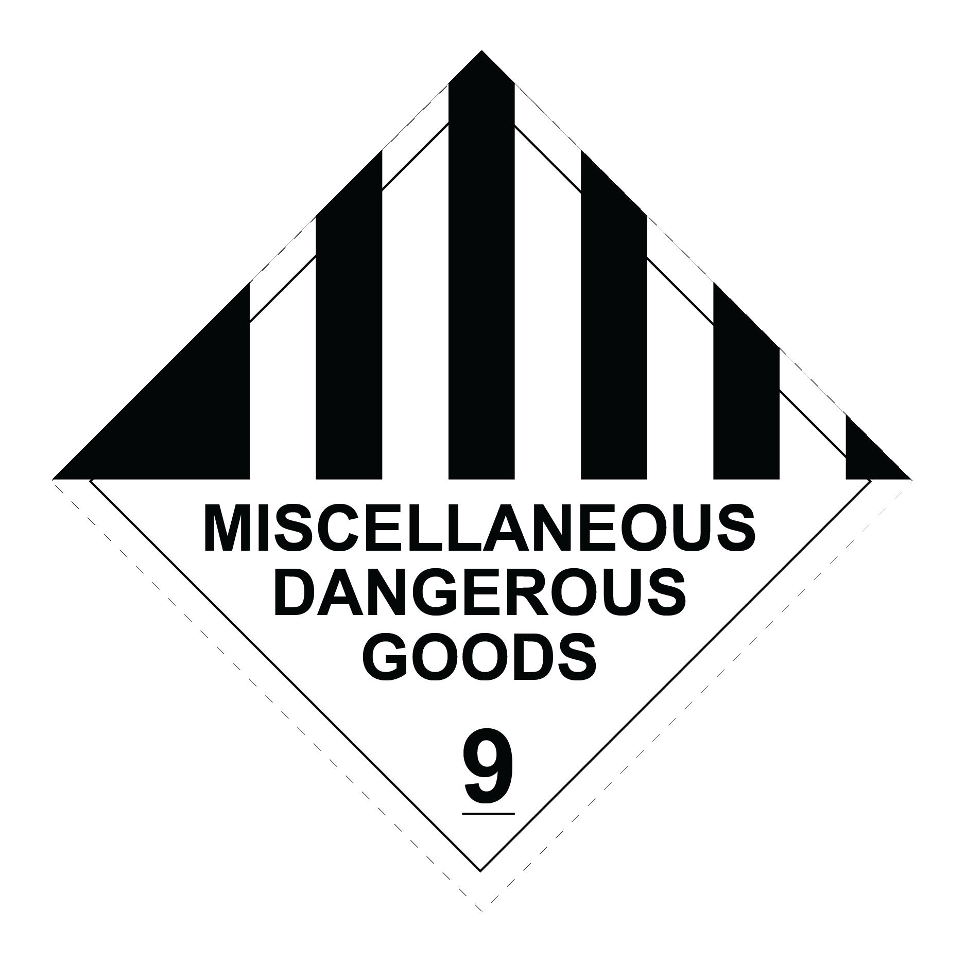 Compliant_9 Miscellaneous Dangerous Goods RLI