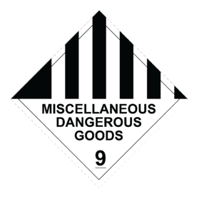 Compliant_9 Miscellaneous Dangerous Goods RLI