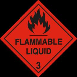 Flammable - Liquid 3