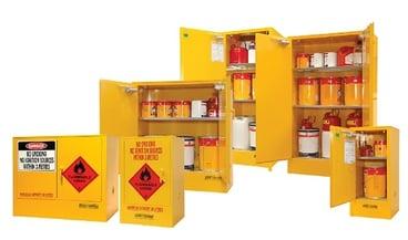 Flammable Liquid Cabinets -