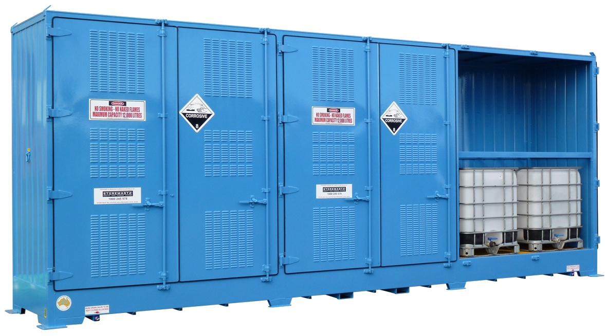 Chemical storage container