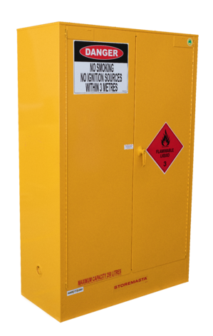 Storemasta Flammable Goods Storage Cabinet Indoors