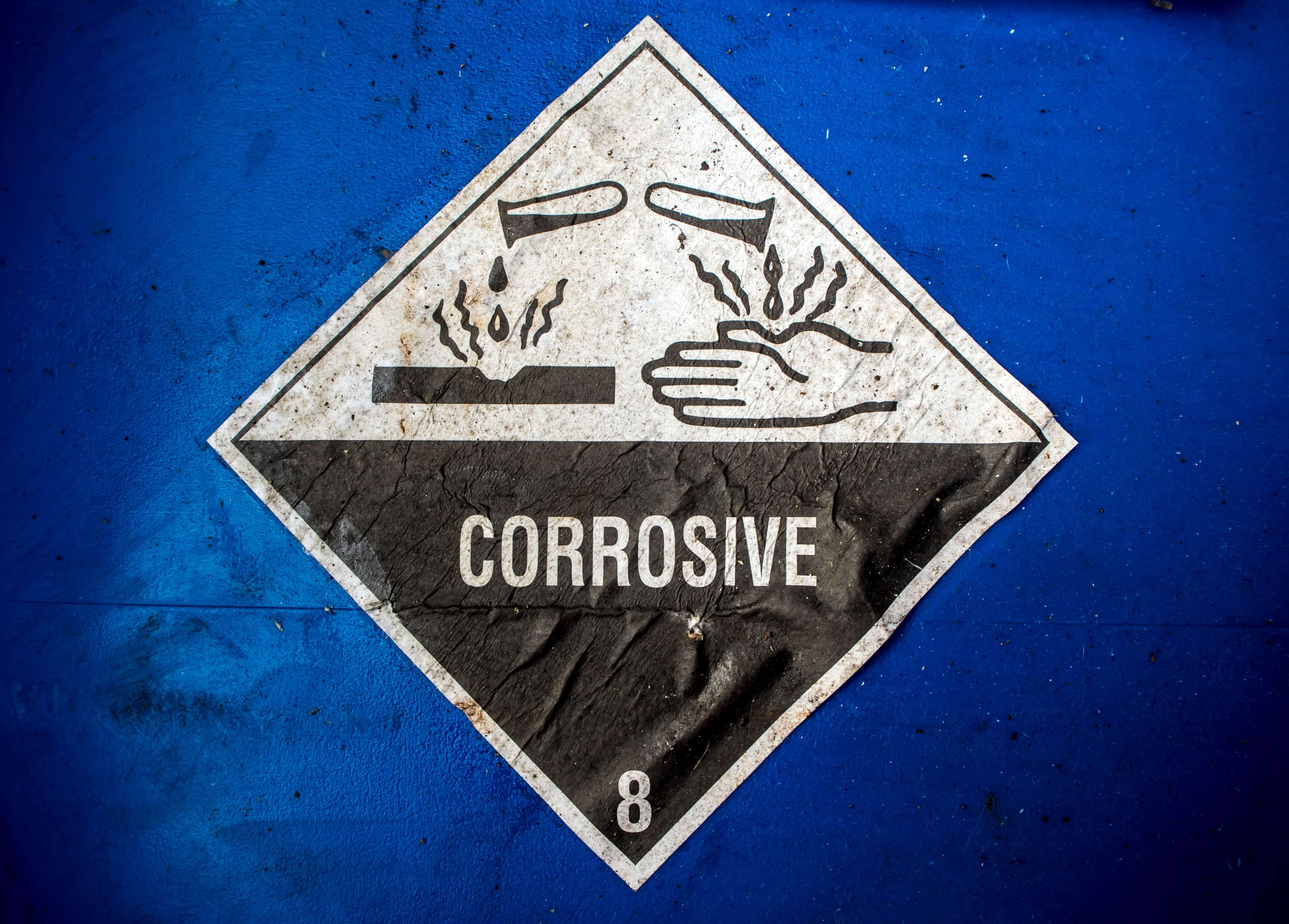 What Are Corrosive Substances