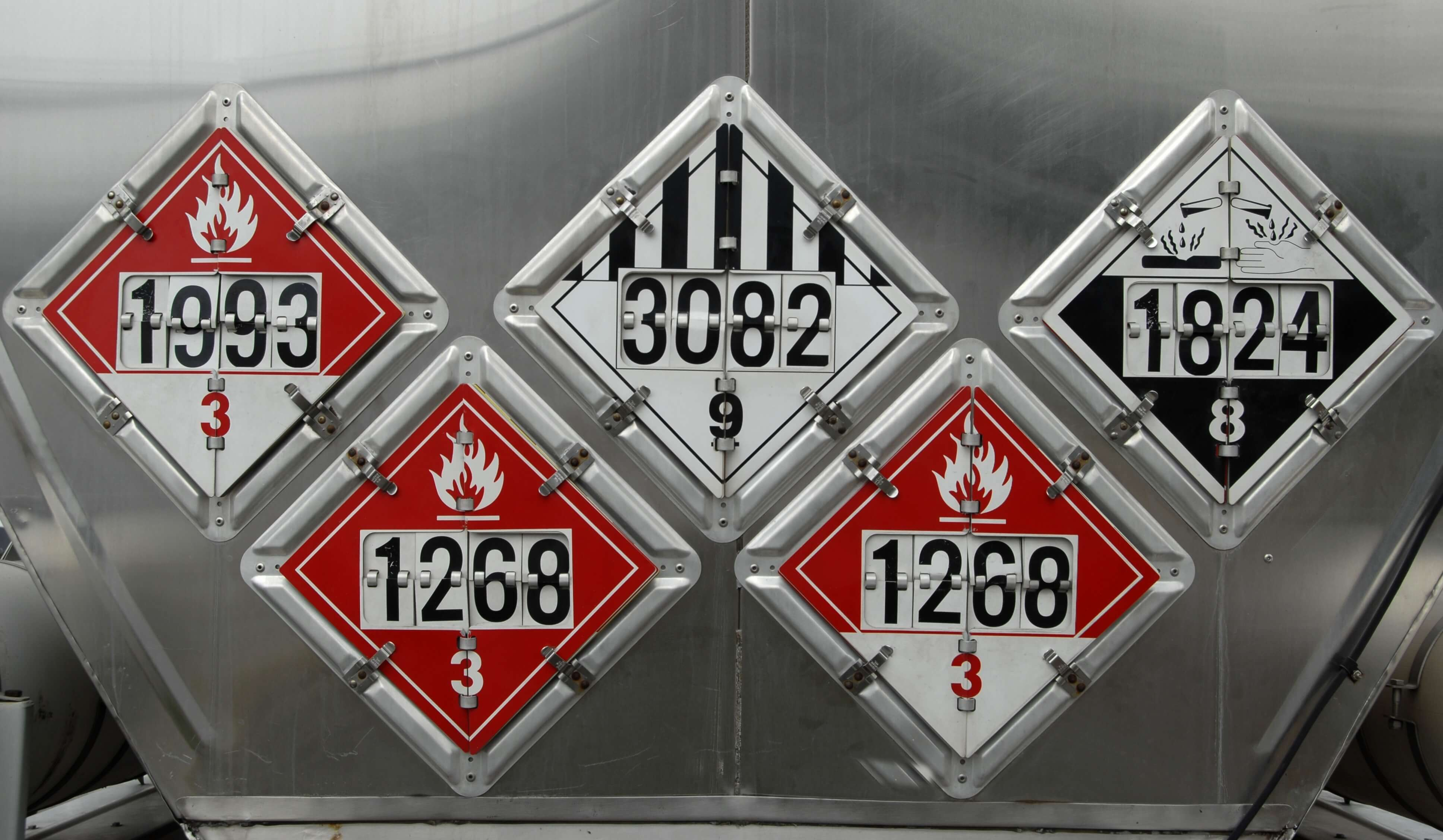 Compatibility Of Class 3 Flammable Liquids With Other Classes Dangerous Goods
