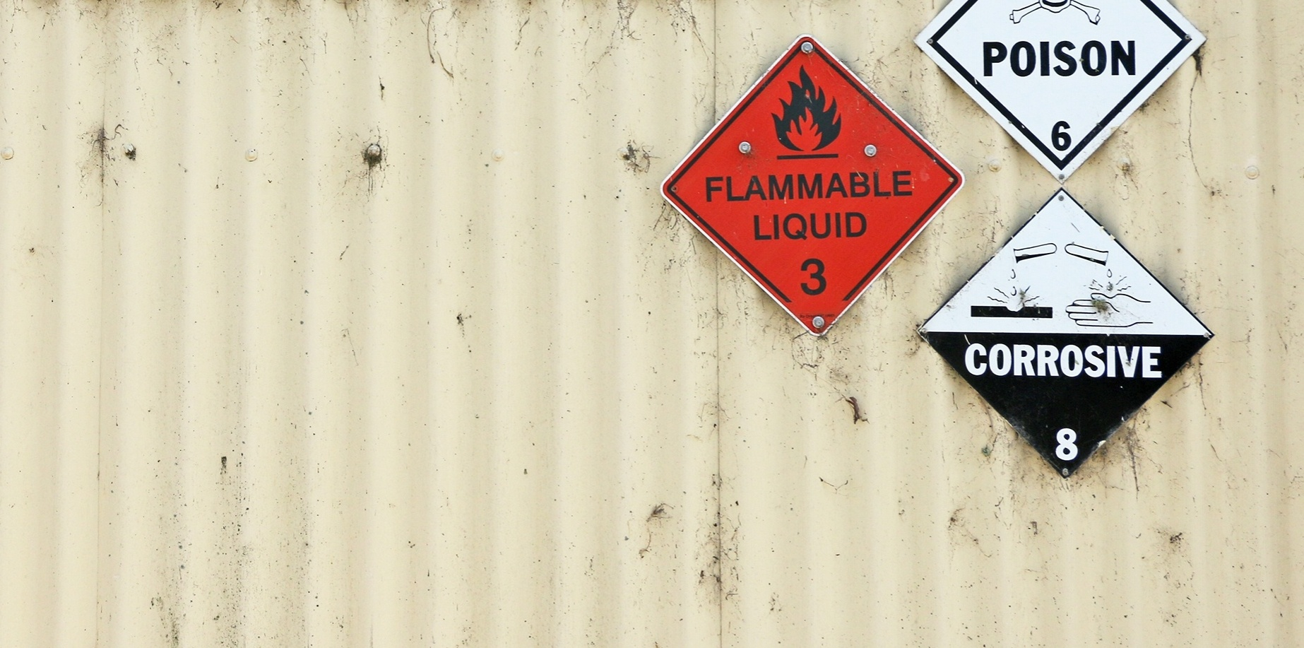 How to Store Flammable Liquids and Corrosive Substances in a Compliant manner