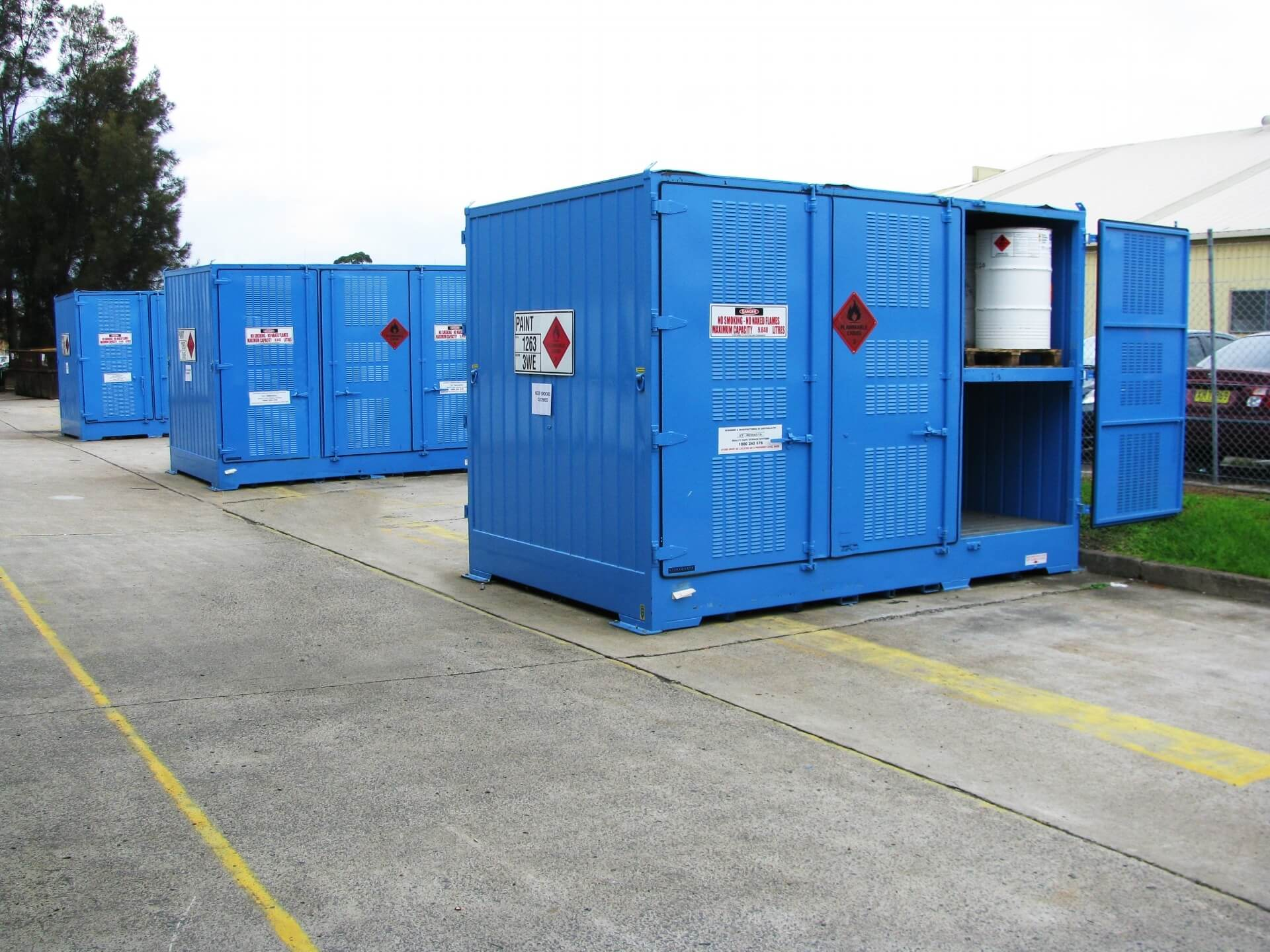 How to store hazardous chemicals legally and safely