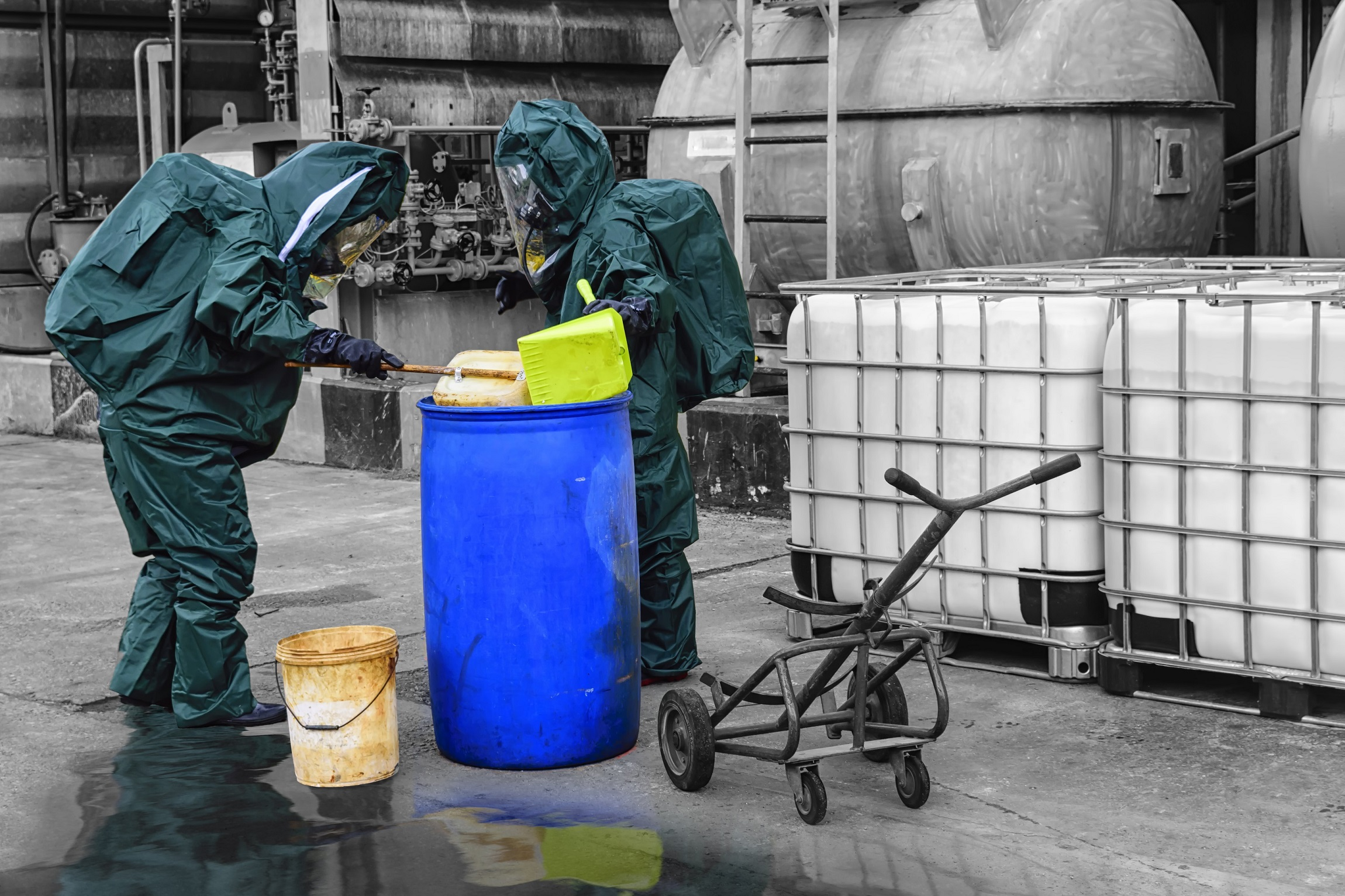 How to work safely with hazardous chemicals