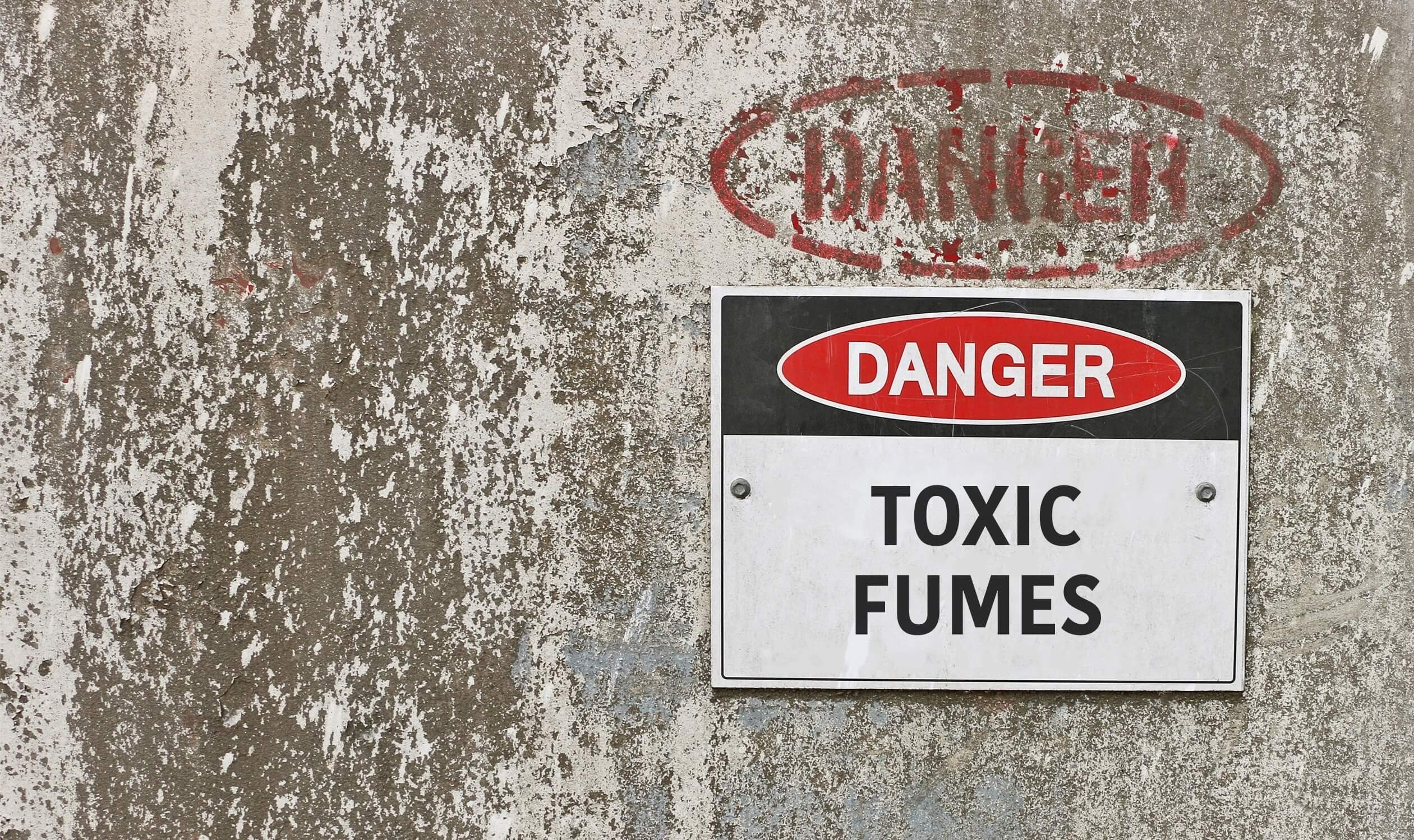Ventilation requirements for toxic storage cabinets