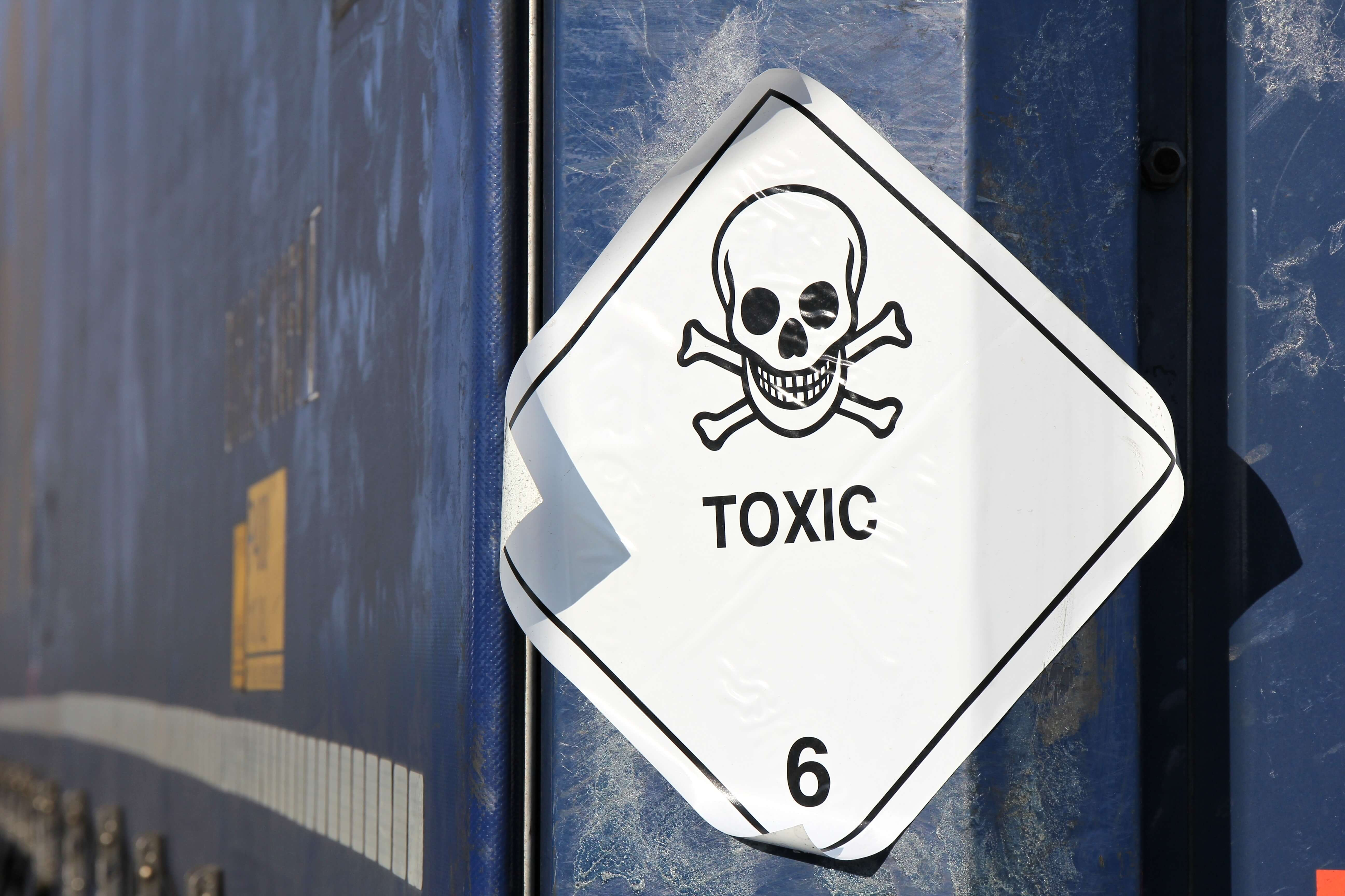 Toxic substance storage requirements for indoors