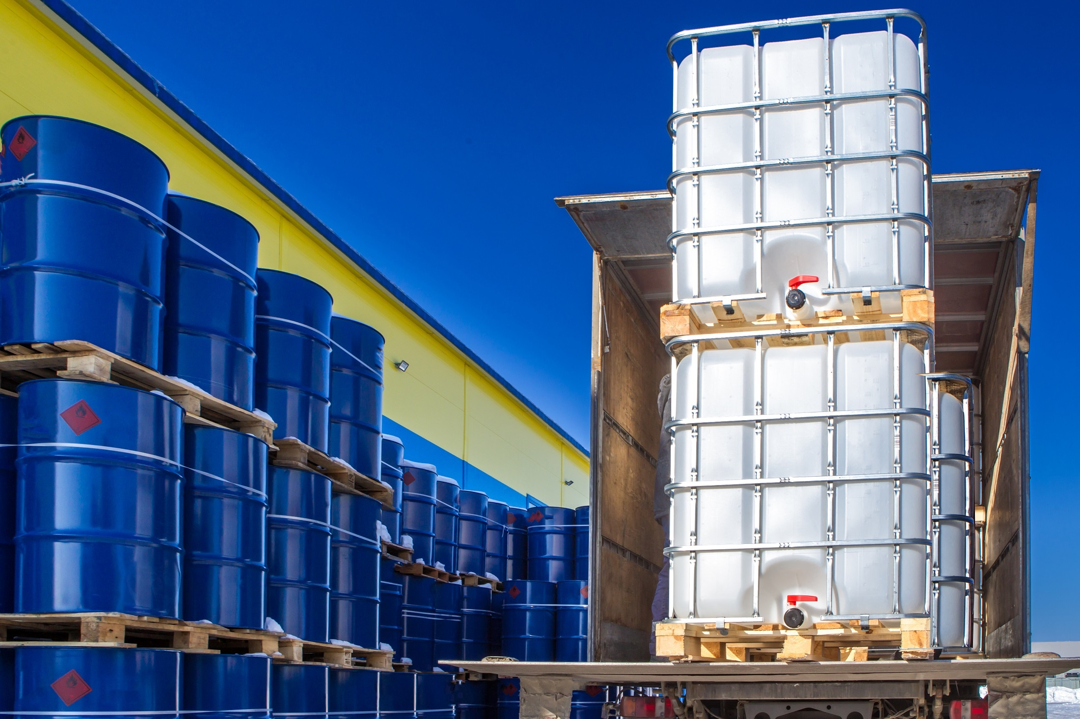 Outdoor chemical storage requirements