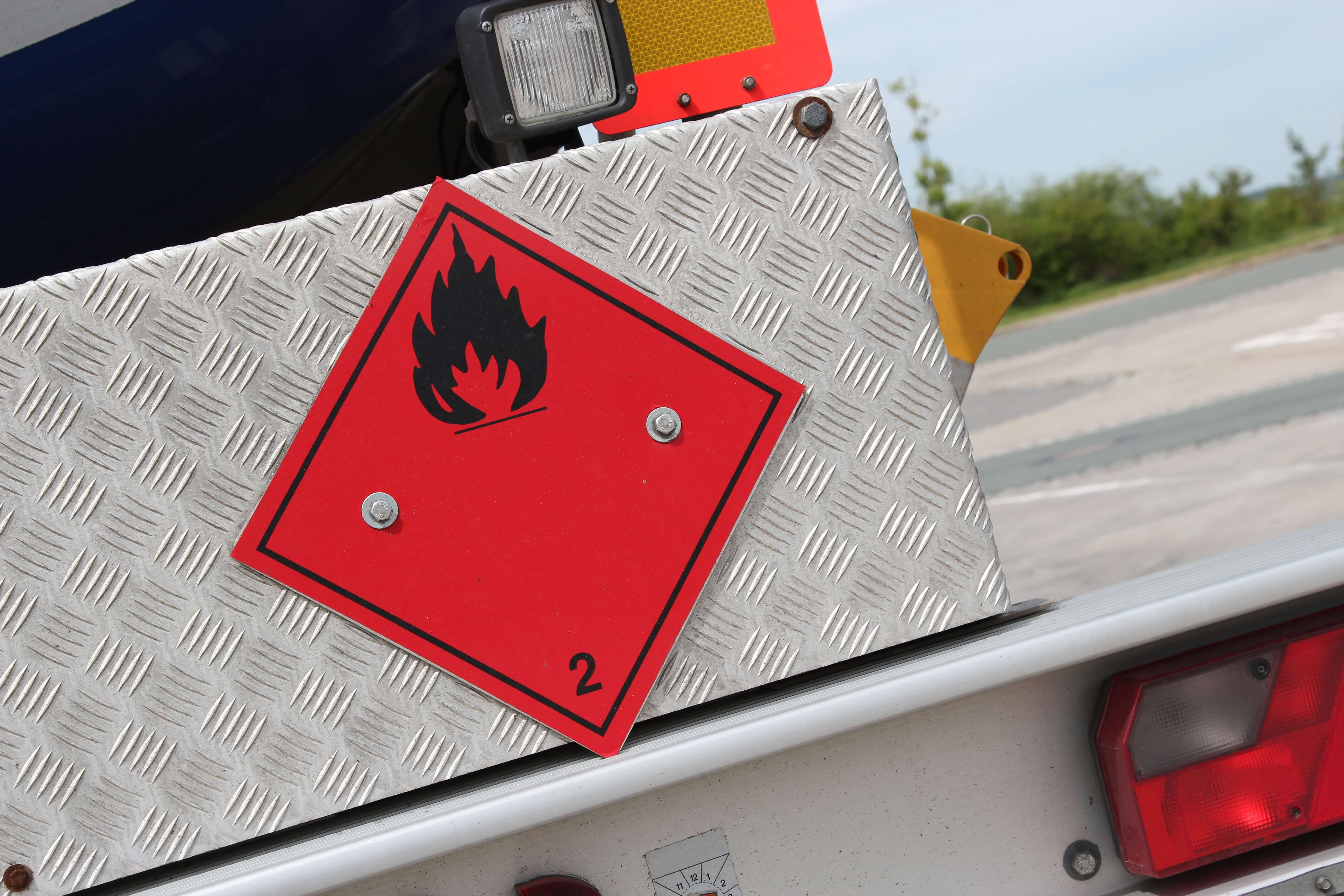 What are flammable substances?