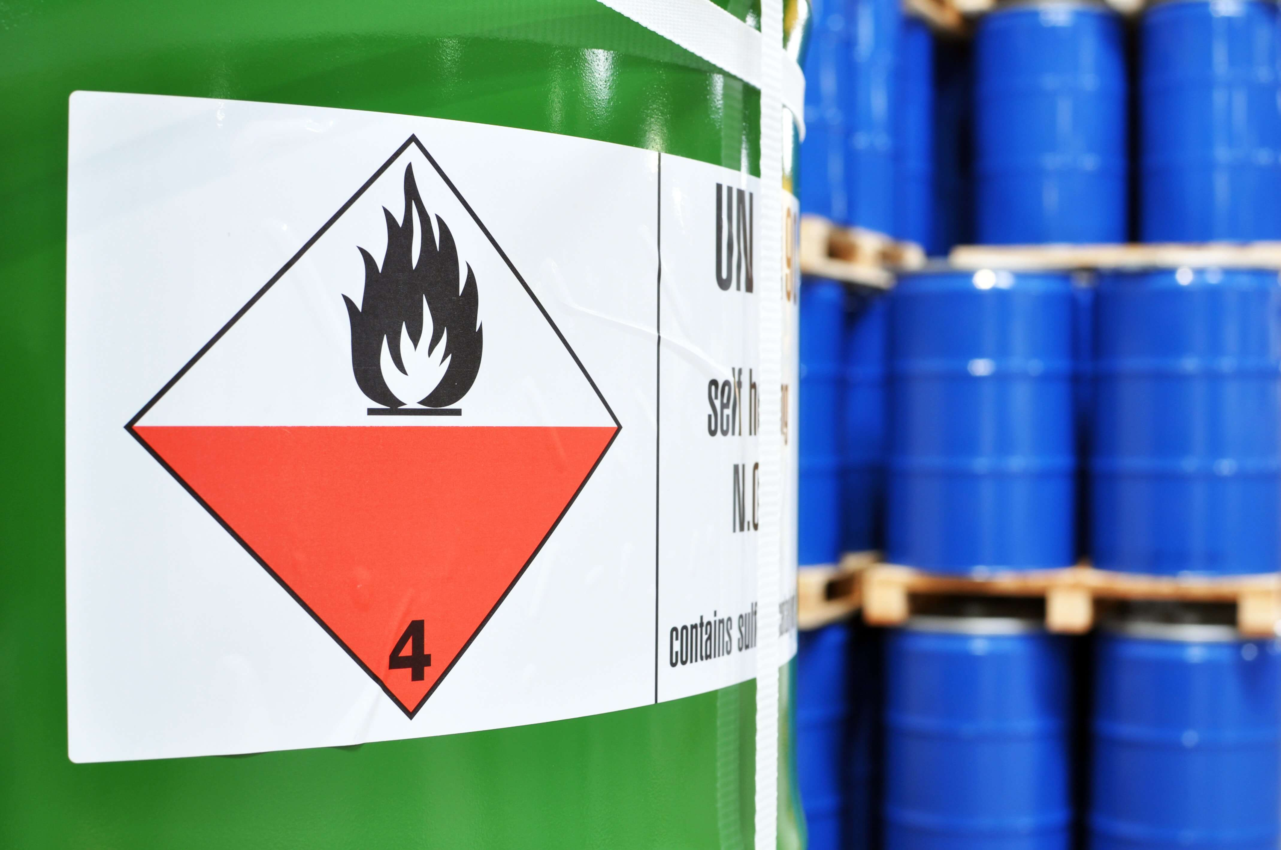What are the risks associated with dangerous goods?