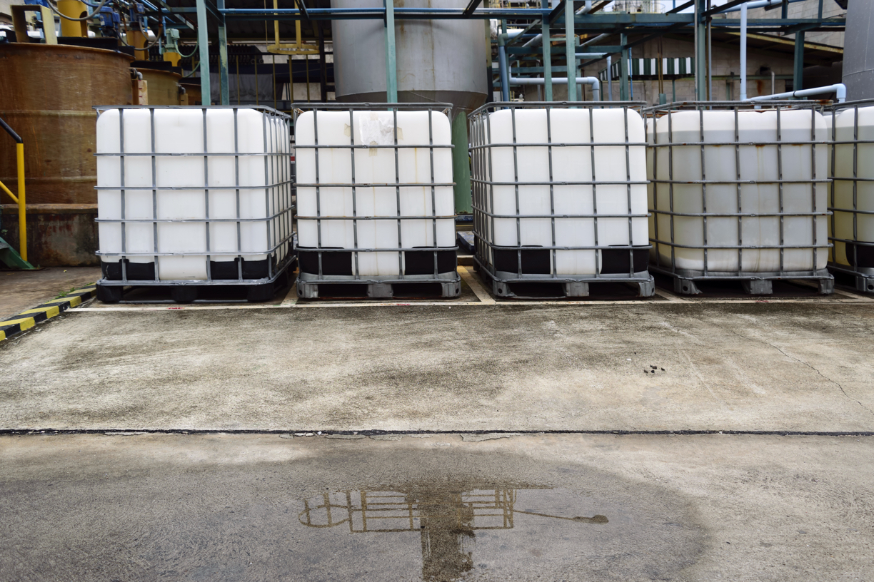 Chemical handling and storage procedure
