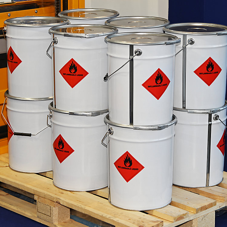 WhyFlammable Liquids Can'tBe StoredInPlastic Or Wooden Cabinets