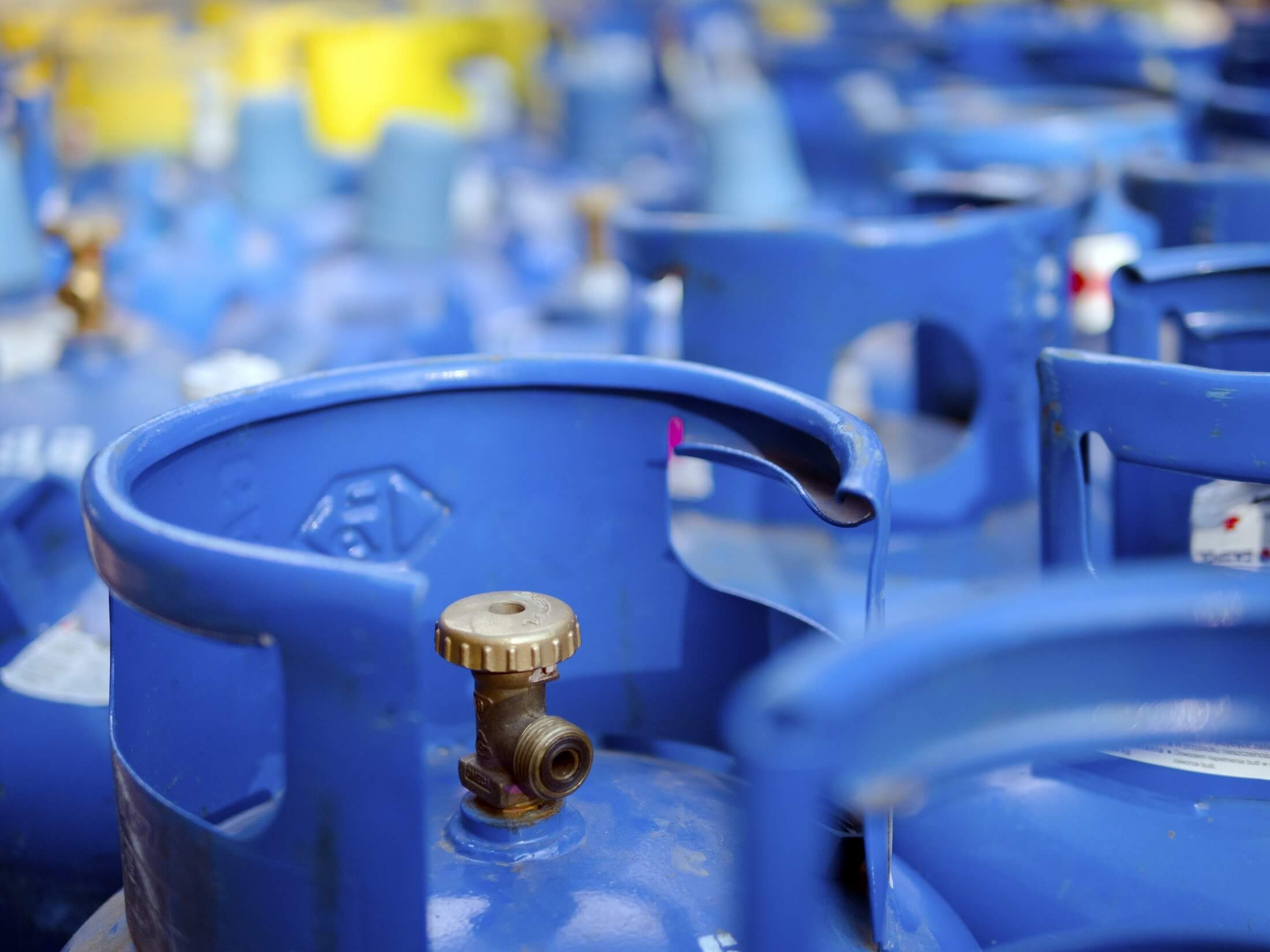 Gas bottle safety in the workplace