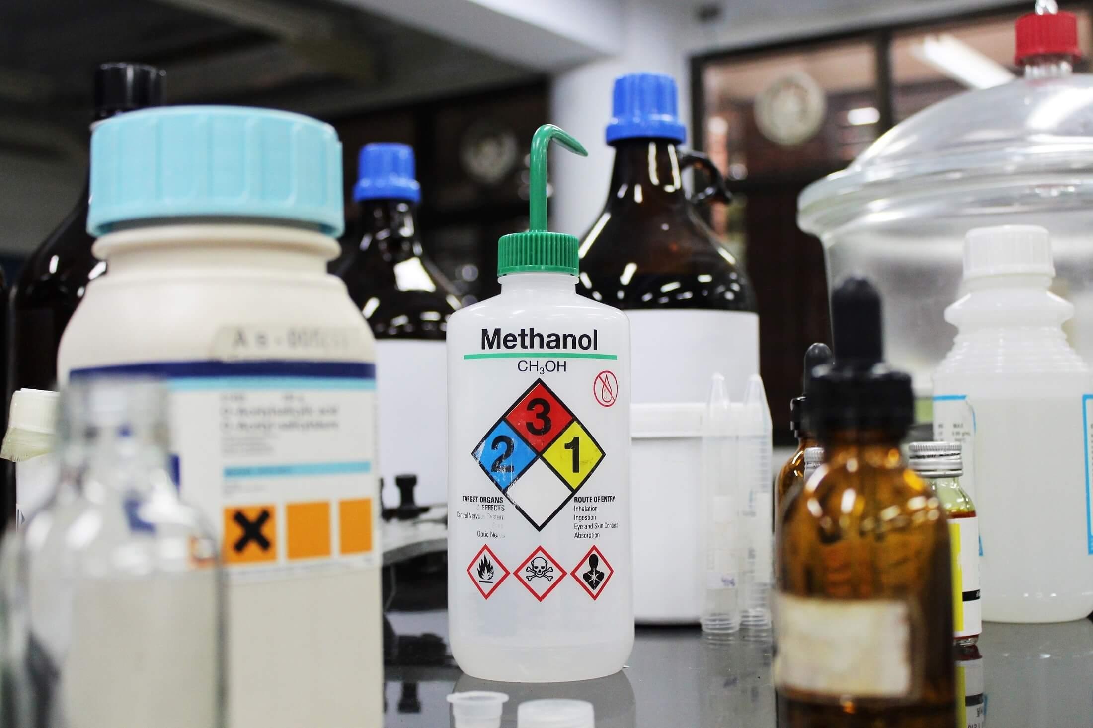How to segregate incompatible hazardous chemicals