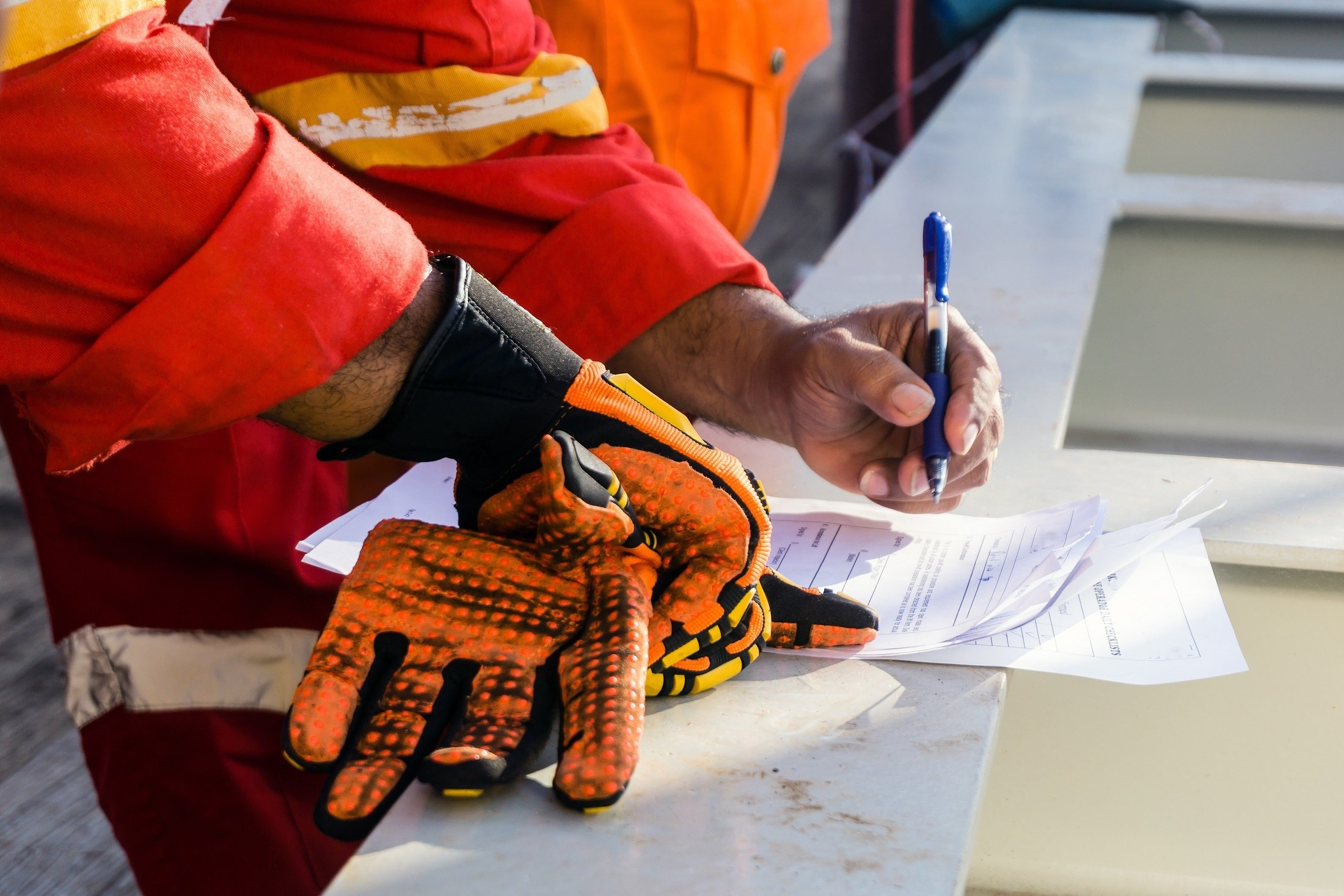 Personal Protective Equipment (PPE) for flammable liquids