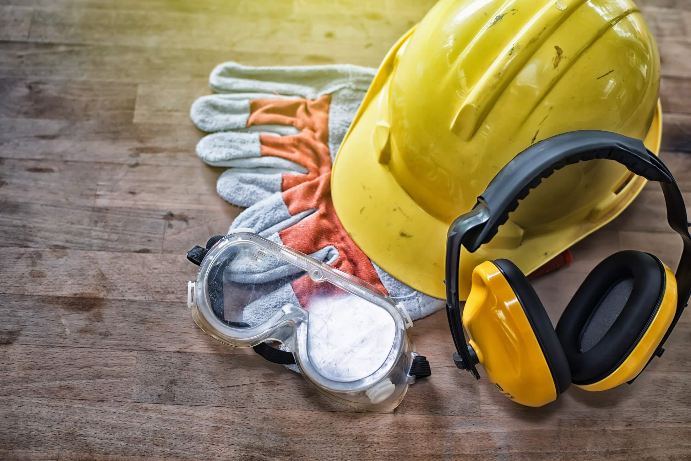 Personal Protective Equipment (PPE) for handling gas cylinders