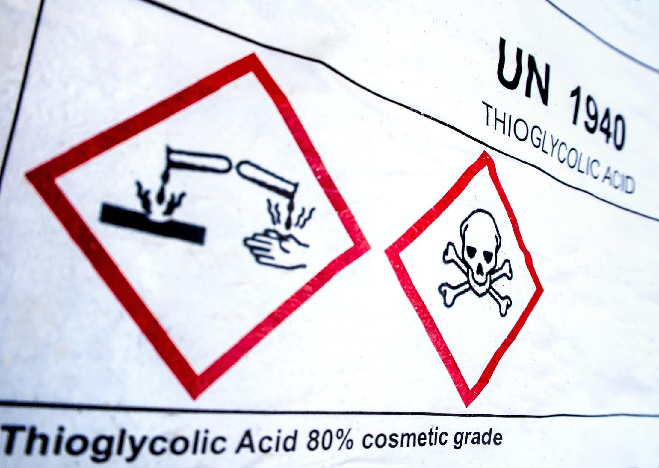Why are corrosive substances harmful?
